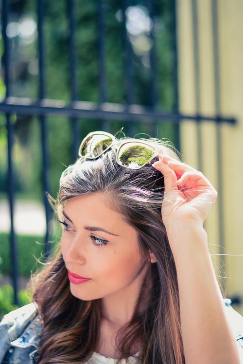 Denina Martin Denina Martin Wearing Sunglasses