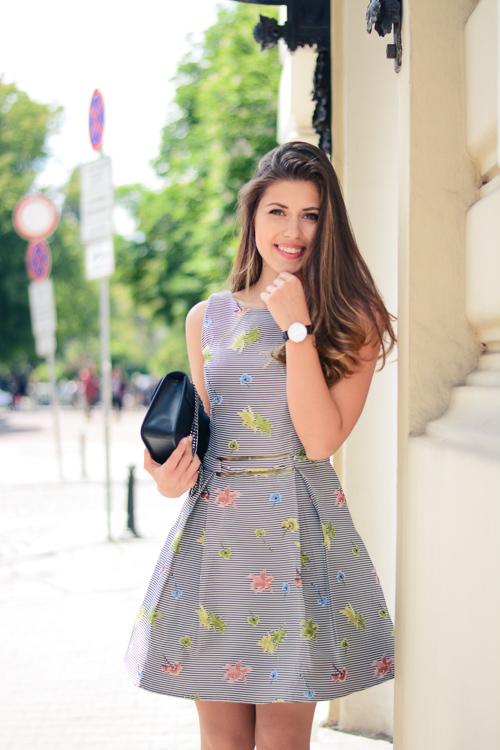Beautiful Occaisiom Dress and Denina Martin