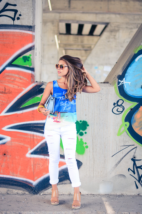 Express Yourself Top Secret Ripped Jeans Denina Martin