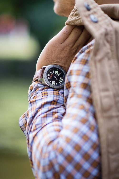 Fashion days adventure style traveller Hugo Boss watch
