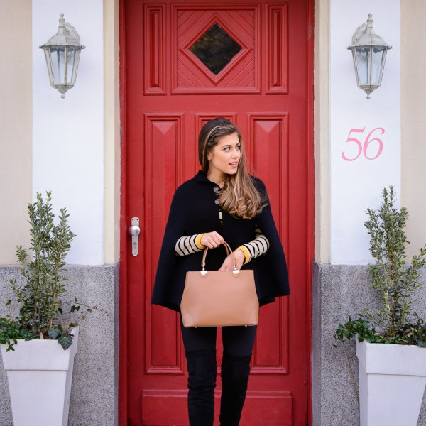 Styling the cape - Purely Me by Denina Martin