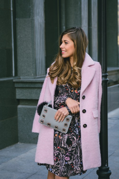 Pink coat by max&co