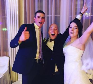 Отзыв Анастасии о свадебном ведущем в Киеве Денисе Скрипко