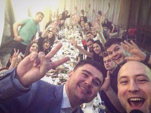 Юбилей Андрея в Киеве с ведущим Денисом Скрипко