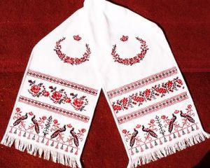 Свадебный рушник традиции на свадьбе