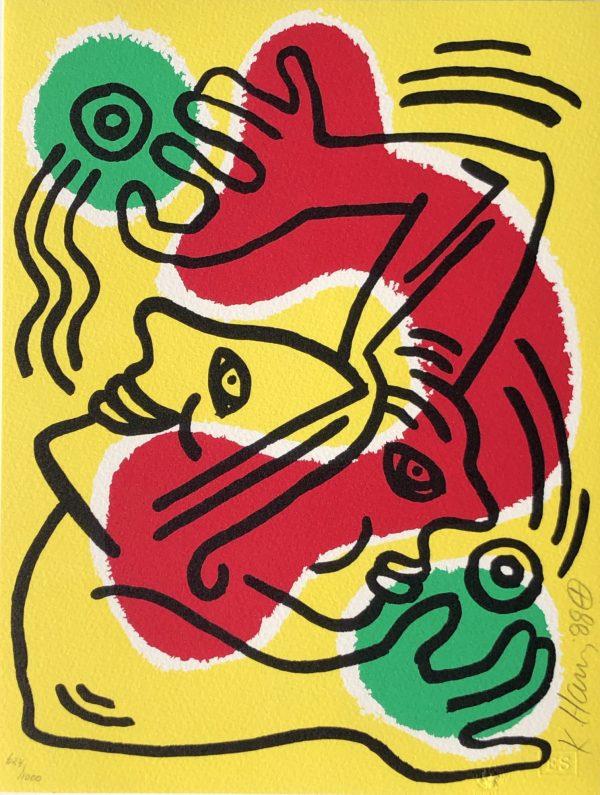 Keith Haring International Volunteer Day - Denis Bloch