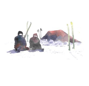 Bivouac guide de montagne altitude