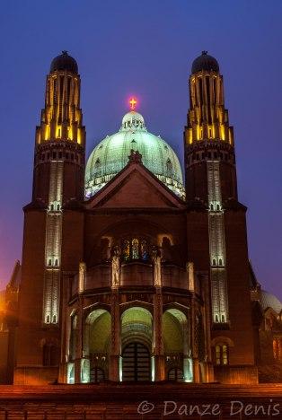 La Basilique de Koekelberg en nocturne #2