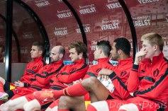 Sur le banc, on écoute les coachs