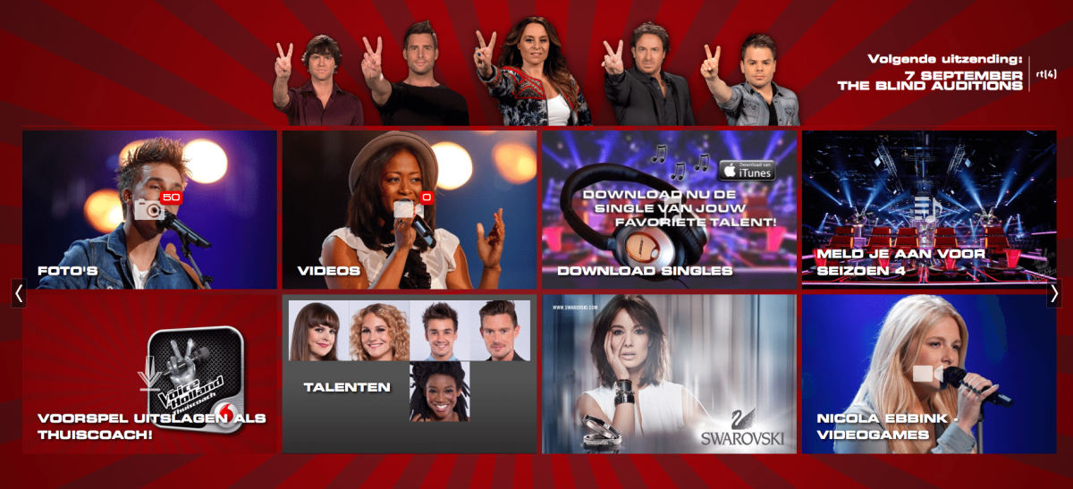 The voice of Holland 2012