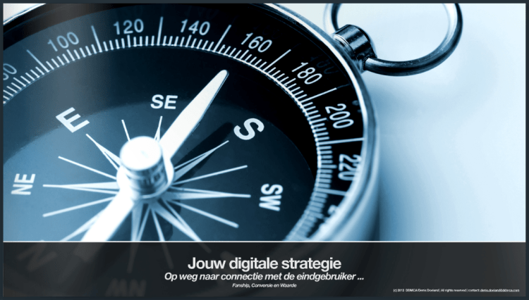 Jouw digitale strategie