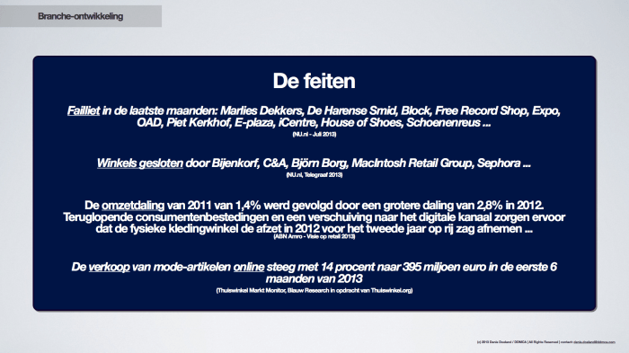 Onze Digitale Strategie - Van bricks clicks