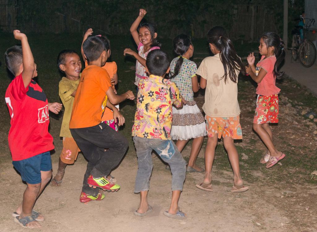 """De kinderen hebben echt genoten van dansen """"Gangnam Style"""""""