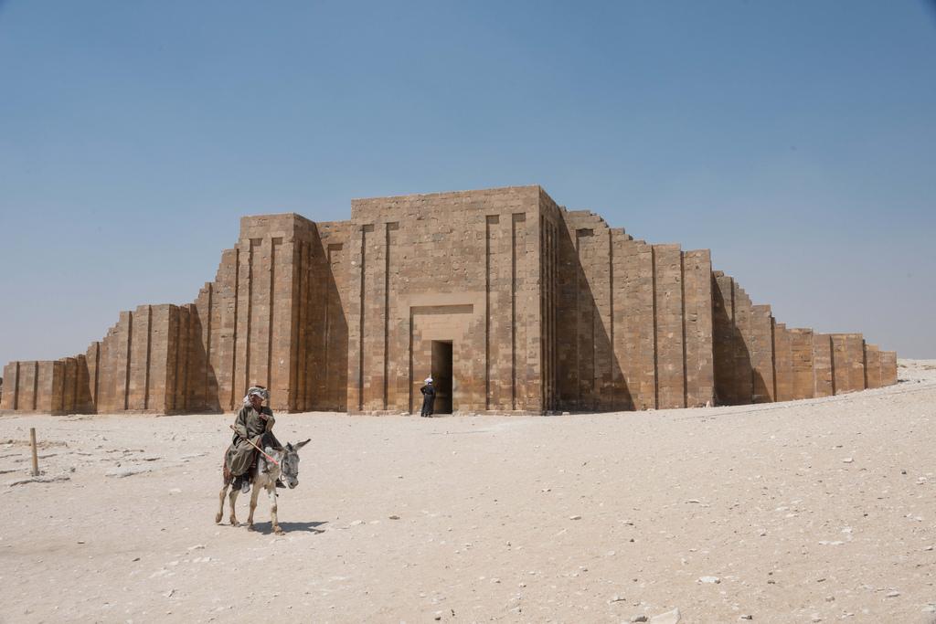 Zoser Temple at Sakkara.