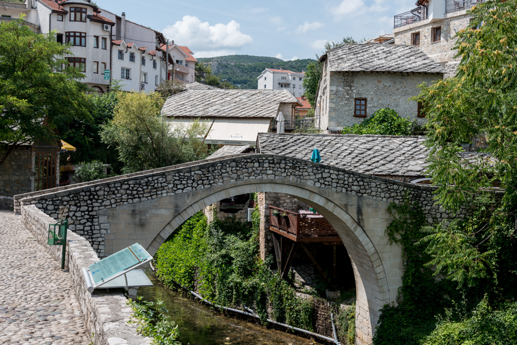 "The ""Crooked Bridge"" was the test model for the daring Stari Most."