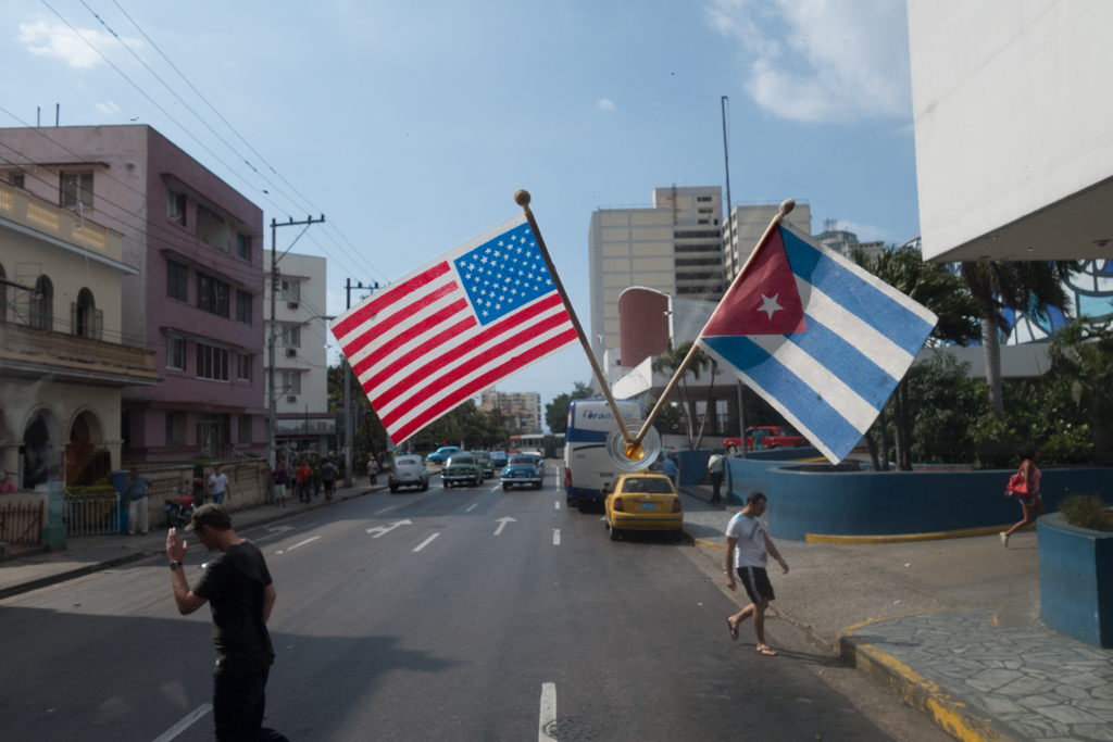 Cuba and America, together again.