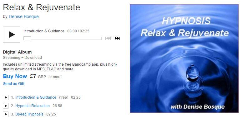 Relax & Rejuvenate with Denise Bosque
