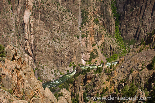 'Black Canyon & Gunnison River' © Denise Bush