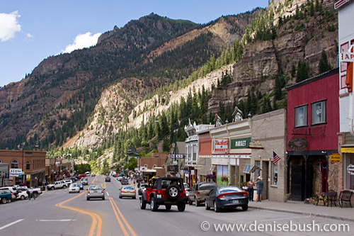 'Town of Ouray' © Denise Bush