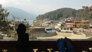 pokhara, nepal, backpacker