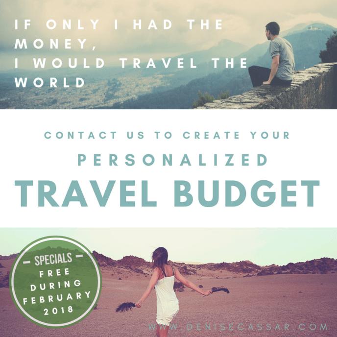 travel budget, free, freebies