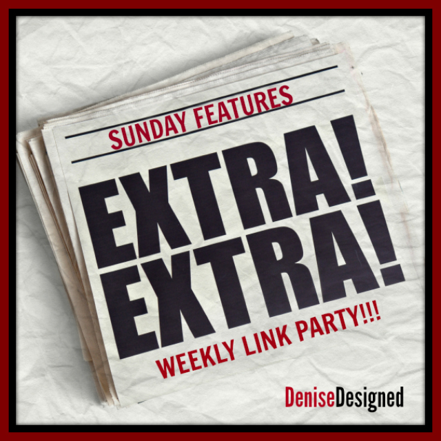 Sunday Features Link Button Sunday Features {21}