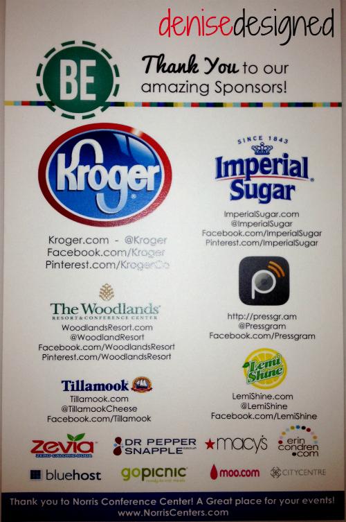 be sponsors