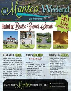 Manteo Reader Weekend flyer UPDATE 9.17