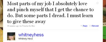 Whitney Hess twitter post 1