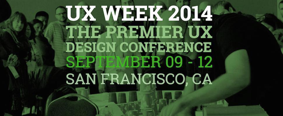 UX Week 2014