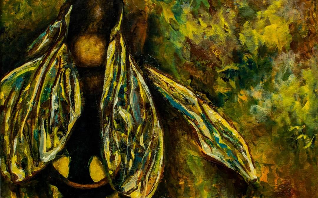 Yellow/Gold Wasp