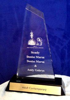Winner New Mexico Music award 2013 STEADY