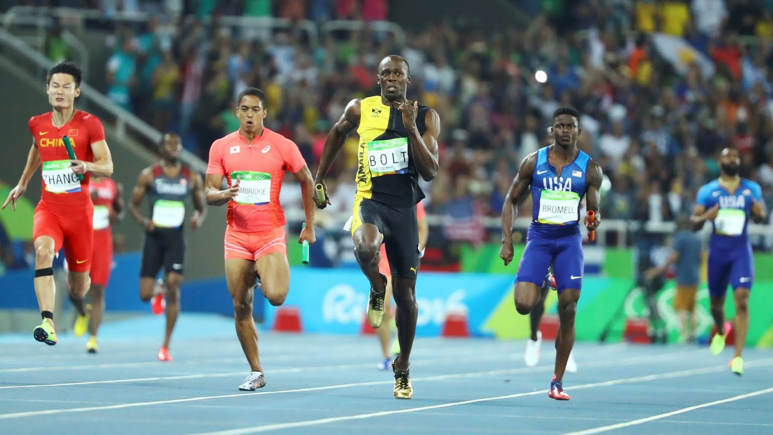 Rio 2016 Olympics: Asafa, Blake, Ashmeade & Usain Bolt Close Down The 4x100m Relay