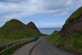 Road at Giant's Causeway