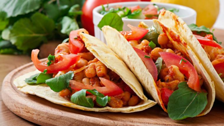 Healthy Crock Pot Chicken Tacos