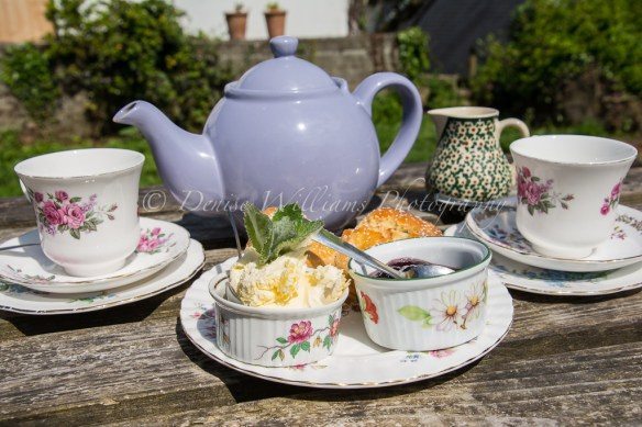 One thing everyone must do in Cornwall is have at least one cream tea (jam first, topped with clotted cream - rather than the other way round in Devon!)
