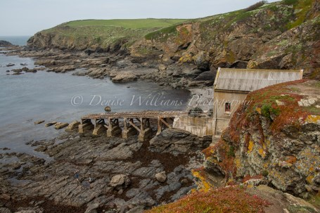 The old Lifeboat Station at the Lizard (no longer in use)