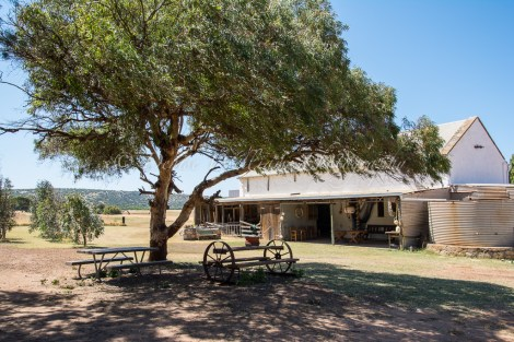 The old stables at Sanford's House nr Port Gregory, Kalbarri, Western Australia