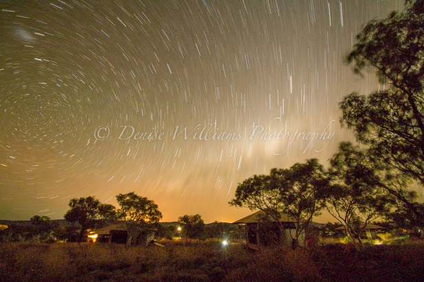 My first attempt at a night sky long exposure - Karijini, Western Australia