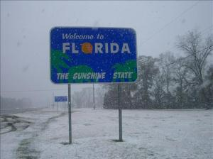 My Perception is this was a cold day in Florida