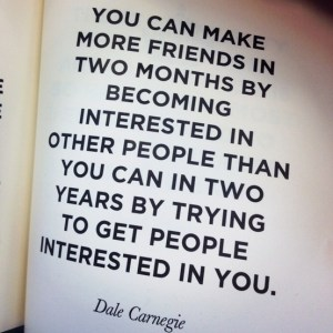 Likeable - Dale Carnegie making friends