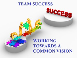 team success - common vision