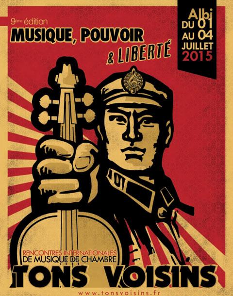 Festival Tons Voisins - Affiche 2015
