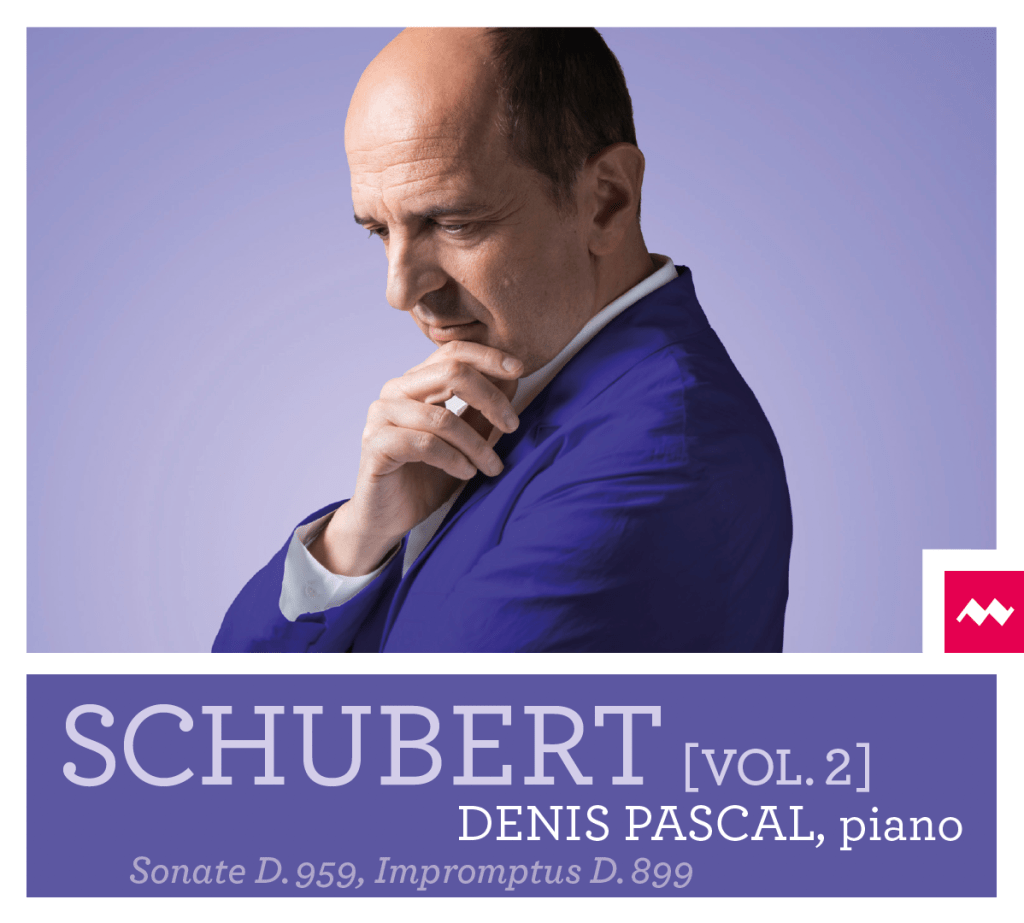 Disque Schubert vol.2 de Denis PASCAL