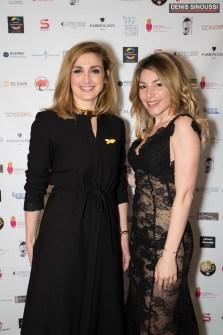 Julie Gayet et Lola Marois