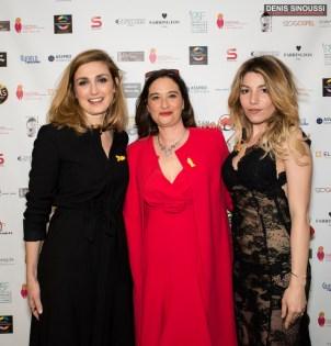 Julie Gayet, Esther Meyniel et Lola Marois