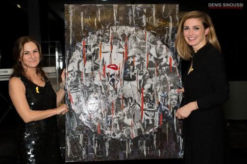 Anne Mondy et Julie Gayet