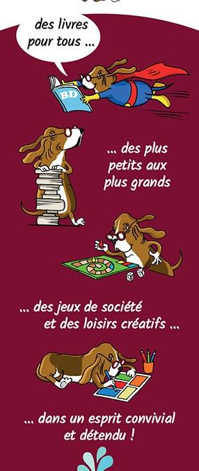 Librairie «Lis tes Ratures» – marque page verso