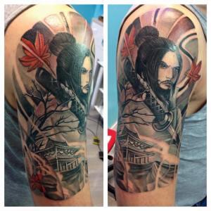Tatuaggio samurai