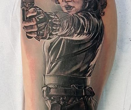 tatuaggio VEDOVA NERA